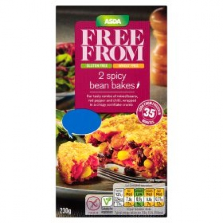 Asda Free From 2 Spicy Bean Bakes Vbot